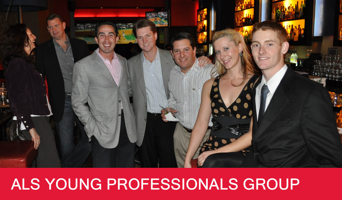 Young Professionals landing page header