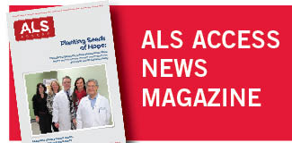 ALS Access Newsmagazine Button