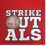 Strike Out ALS short sleeve T-shirt - Red