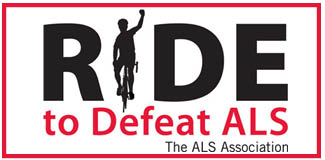 Ride To Defeat ALS Button