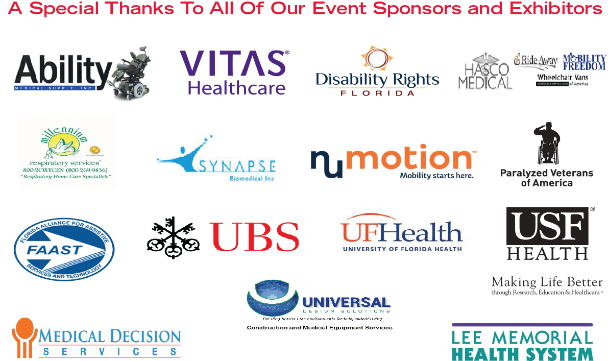 Special Thanks to our Vendors and Sponsors